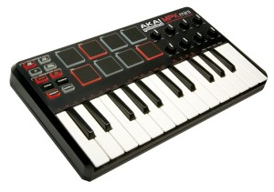 you can connect a MIDI keyboard with BTV Solo