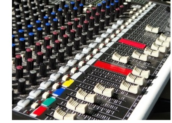 Sound mixing software for audio and music production